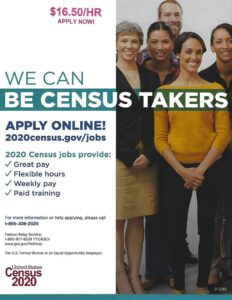 2020 US Census is now hiring. If you need help filling out your job application? Please all Margaret Clay at 910-217-8944. She will be glad to help. She is assigned to helping Hamilton County get our count up